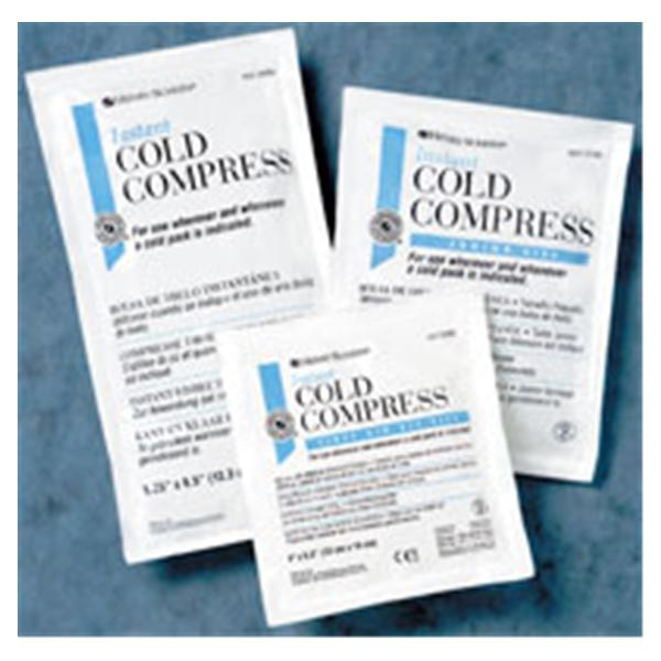 "Henry Schein  Compress Cold Instant Disposable 5x7"" 48/Ca"