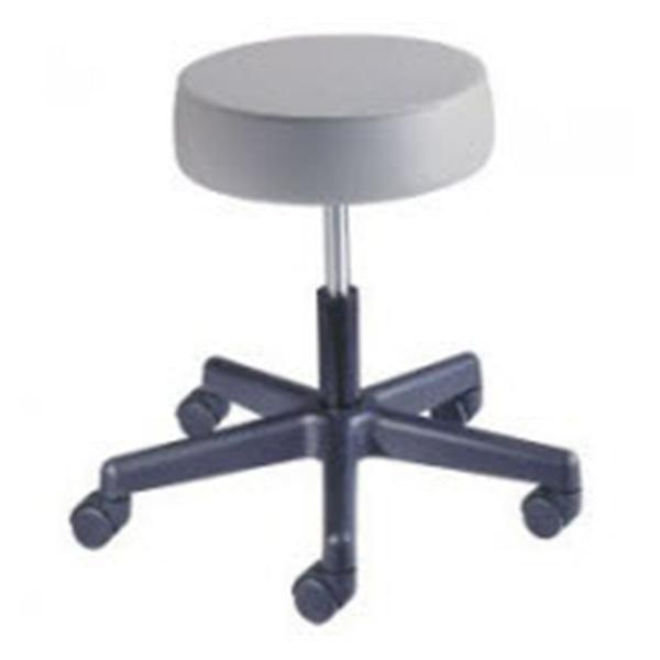 Brewer Company Stool Exam Value Plus Blue Fog Casters Backless 5 Leg Ea (22400-PR46)