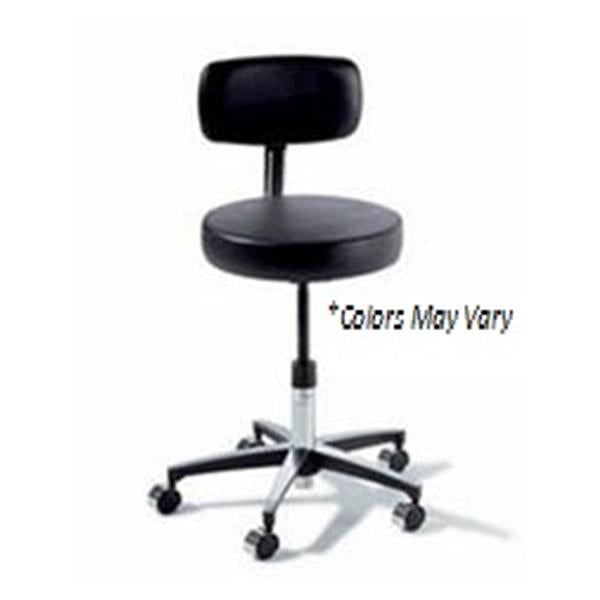 Midmark oration Stool Exam Ritter Classic Series Shadow Gray 5 Lg/Cstr Bckrst Ea (275-001-232)