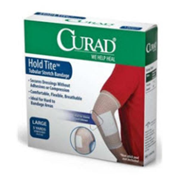"Medline Industries  Bandage Curad 17""x25yd Retention Elastic Size 6 LF 24Bx/Ca"