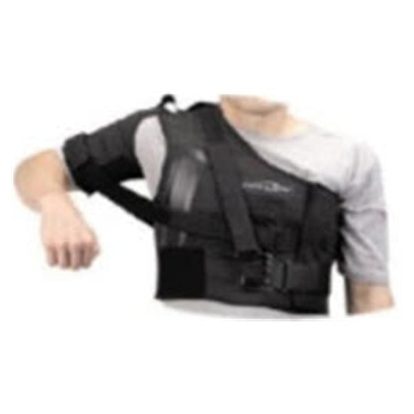DJO Stabilizer Brace Donjoy Adult Shoulder Poly Lcr Blk Sz Sm Rt Ea