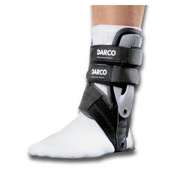 Darco International  Brace Orthosis Body Armor Sport Ankle Black Size Large Left Ea