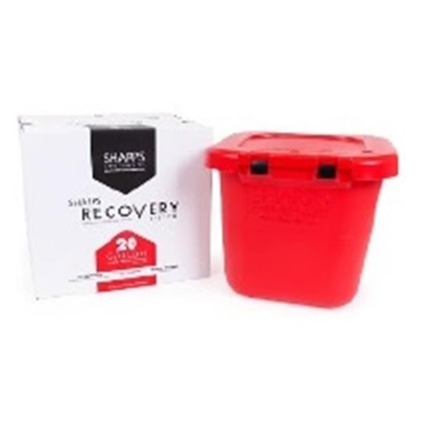 Sharps Compliance Container Mail In Sharps Recovery System 20gal Plastic Red Ea