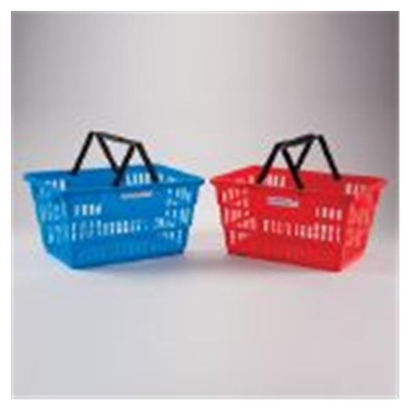 Health Care Logistics Basket Tote Plastic Blue Ea