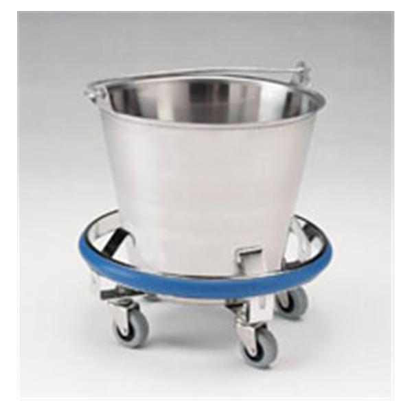 Pedigo Products Bucket Kick Stainless Steel Frame 12qt Ea