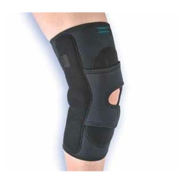 "Hely & Weber Brace Support Lateral ""J"" Knee Neo Black Size X-Small Left Ea"