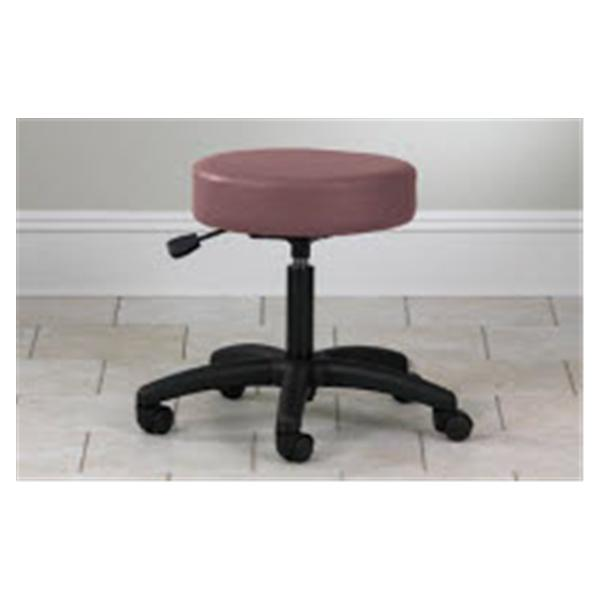Clinton Industries Stool Exam Value Series Purple Gray 5 Leg/Casters Backless ea