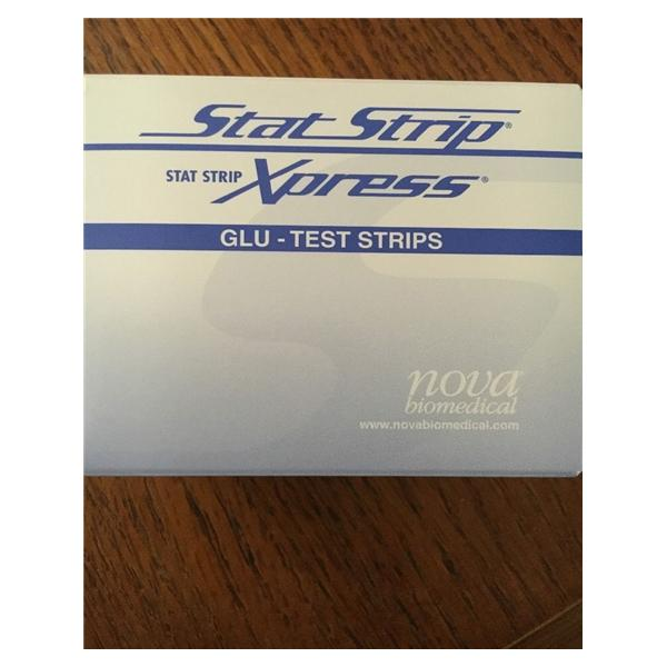 Nova Biomedical StatStrip JHCP Glucose Test Strip 100/Bx, 18 BX/CA (42214)