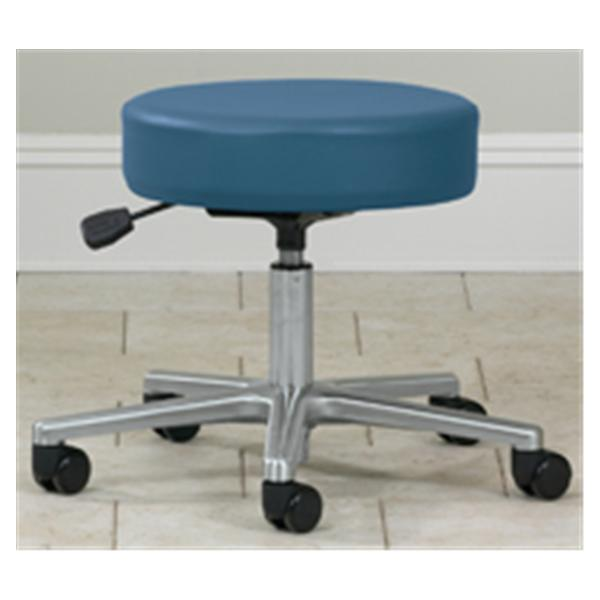 Clinton Industries Stool Exam Select Series Slate Blue 5 Leg/Casters Backless Ea
