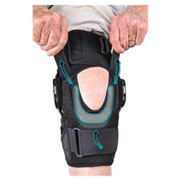 Hely & Weber Brace Support Global Knee Knee Lycr Blk Sz 3X-Large Universal Ea