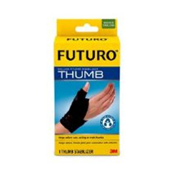 3M Consumer Health Care Stabilizer Orthopedic Futuro Deluxe Thumb Blk Sz Sm/Md 12/Bx