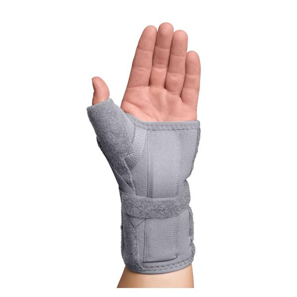 Swede-O  Brace Thumb Spica Adult Carpal Tunnel Gry Sz XS/Sm Left Ea