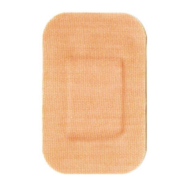 "Dukal oration Bandage Patch Fabric 1-1/2x2"" Tan 100/Bx, 12 BX/CA (PVJ2D)"