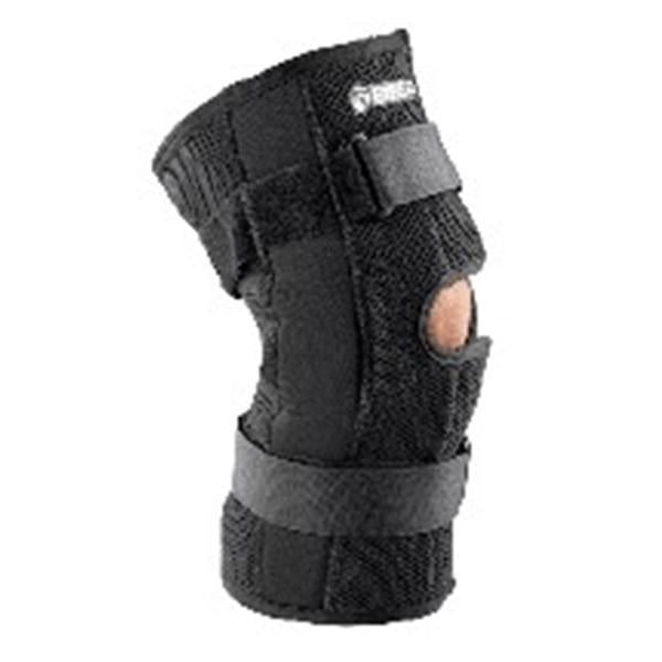 Breg Brace Support Economy Knee Neoprene Black Size Large Ea (6704)
