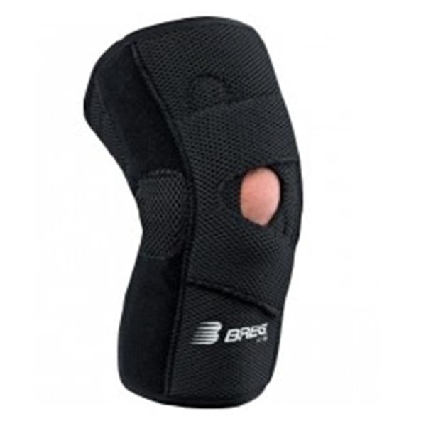Breg Brace Lateral Stabilizer Knee Neoprene Black Size Large Right Ea