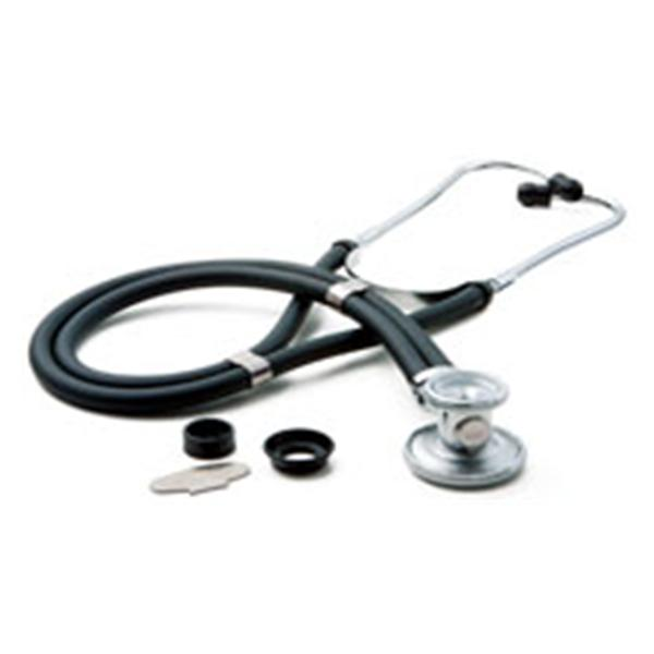 "American Diagnostic  Stethoscope Sprague Rappaport Adscope Black 30"" 2-Head Ea, 20 EA/CA (641BK)"