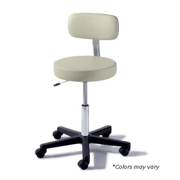 Midmark oration Stool Exam Basic 273 Dark Linen Back Ea