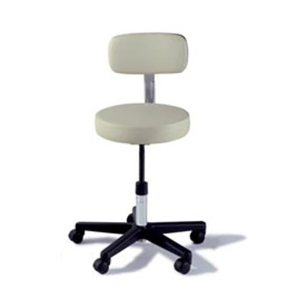 Midmark oration Stool Exam Ritter Value Series ShdwGry 5 Lg/Cstr Bckrst Blk BS Ea (271-001-232)