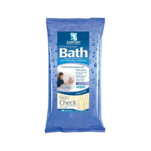 Sage Products Comfort Bath Washcloth Deodorant/Cleansing Scented 44x8/Ca