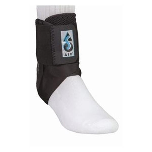 Medical Specialties Stabilizer ASO Vortex Ankle Black Size Small Ea