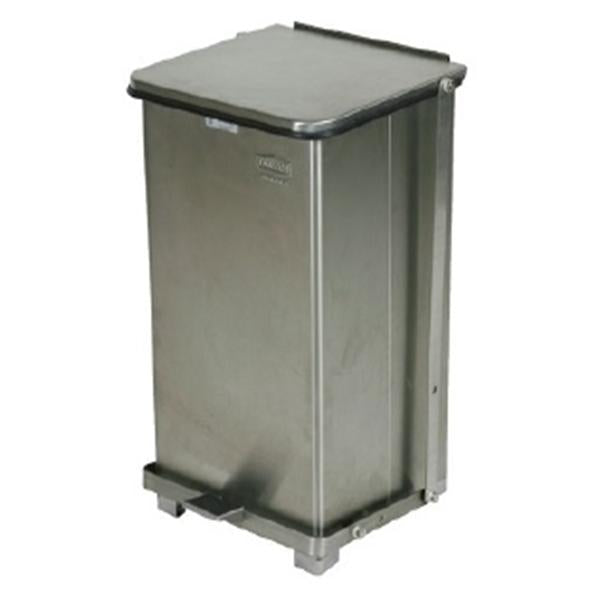Rubbermaid Square Step Can SS 12 Gallon12x23 PL Lnr Ea