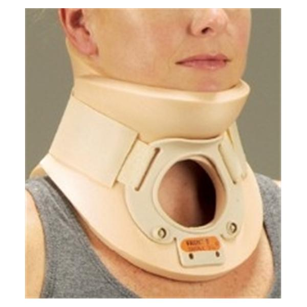 Deroyal Industries  Collar Rigid Cervical Plastazote Foam White Size Small Ea