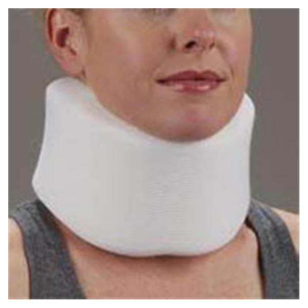 Deroyal Industries  Collar Comfo-Eze Narrow Cervical Foam White Size Large Ea