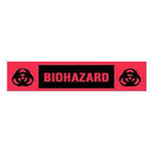"TimeMed a Div of PDC Label Biohazard Tape Red 2x1/2"" 500/Rl 500/Rl"