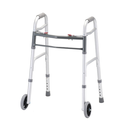 Folding Walkers with 5″ Wheels