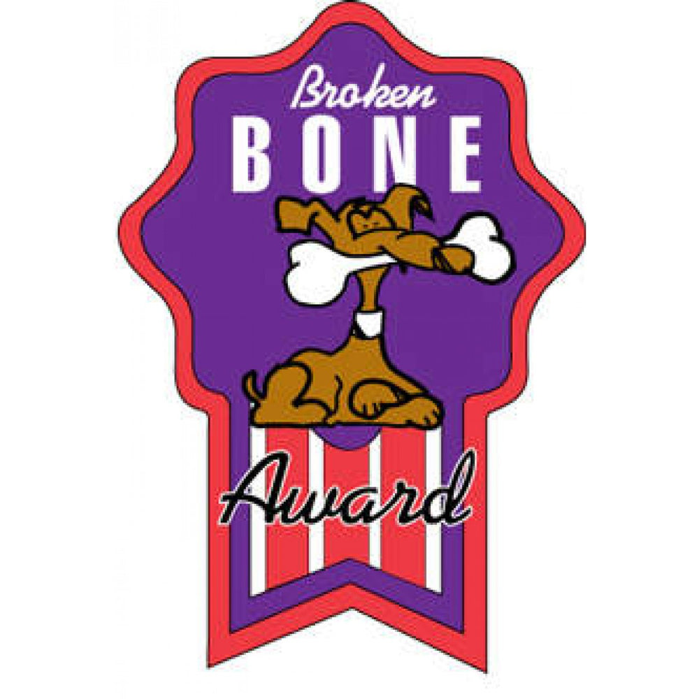 Label Pediatric Award Sticker Paper Permanent Broken Bone Award Purple 250 Per Roll