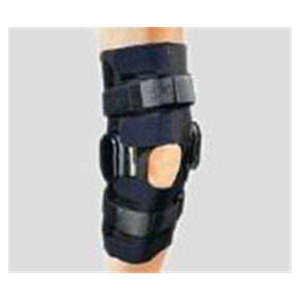 DJO Brace Wraparound Action Adult Long Knee Neo Blk Sz 17 XL Univ Ea (79-94418)