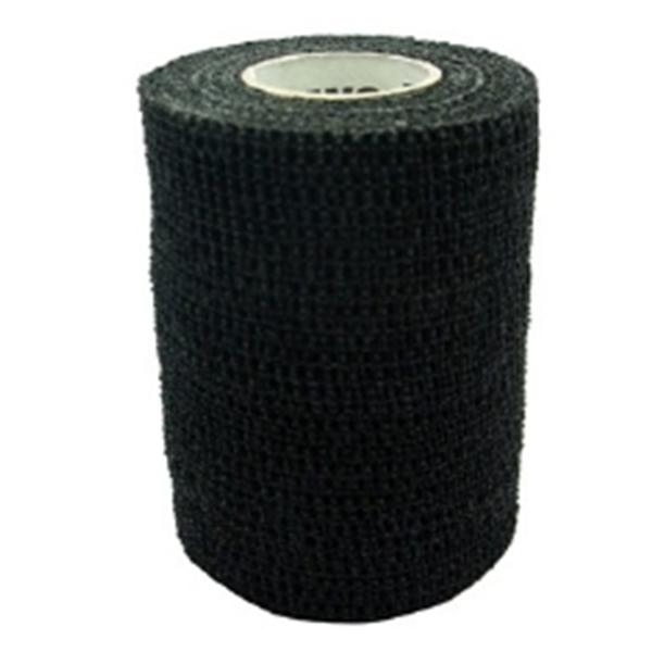 "Andover Coated Products Bandage PetFlex 3""x5yd Stretch Elastic Black Latex 24/Ca"