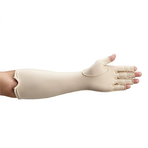 Rolyan Compression Gloves, Forearm Length