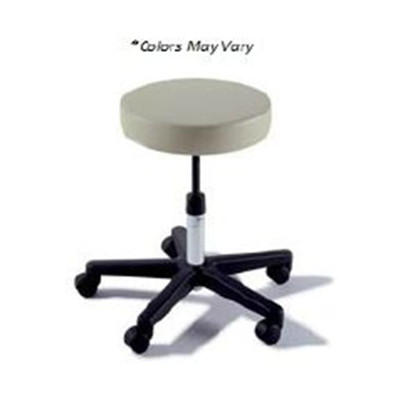 Midmark oration Stool Exam Ritter Value Series Fossil Gray 5 Lg/Cstr Blk BS Ea