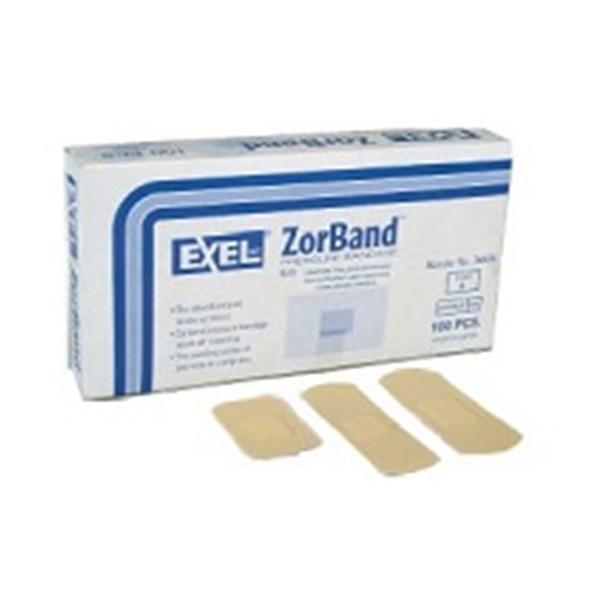 Exel International  Bandage Pressure Cellulose Zorband XL Tan 100/Bx, 10 BX/CA (26836)