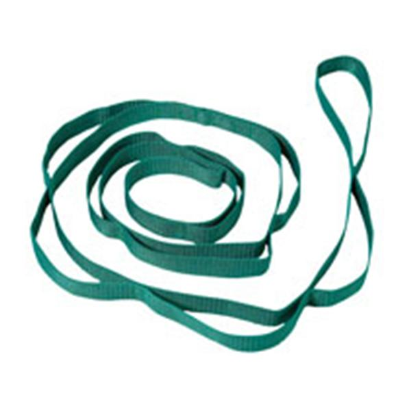 "M-F Athletic  Strap Stretching 72"" Green With 10 Loops/Poster Ea"