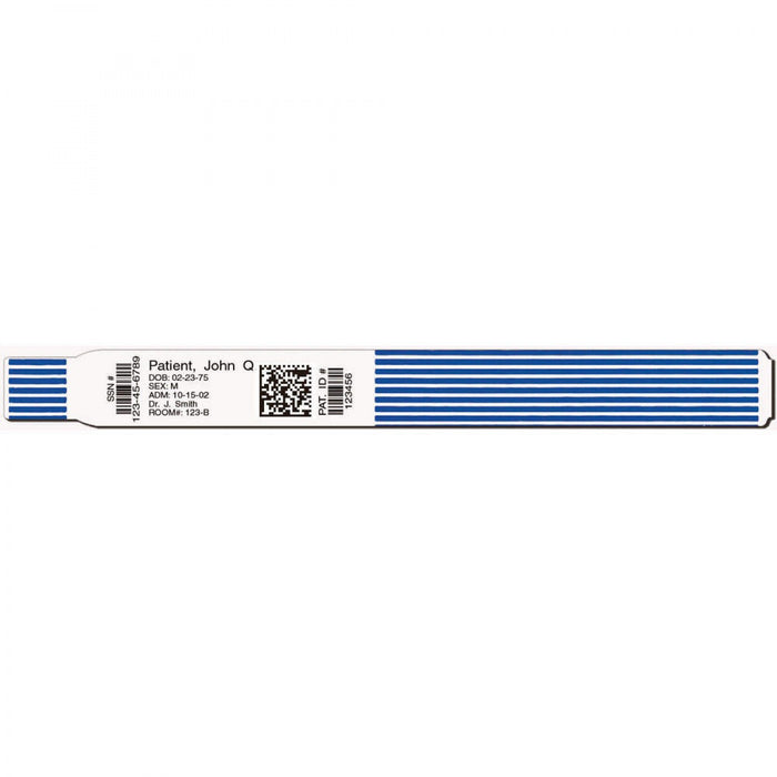 "Scanband Plus Adult Bb At Perf- 1.5"" Core- Wounds In- Blue 7906-13-Pdh"
