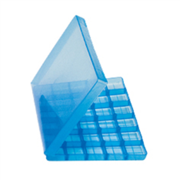 Troche Mold with Hinged Lid (30 Cavity)blue