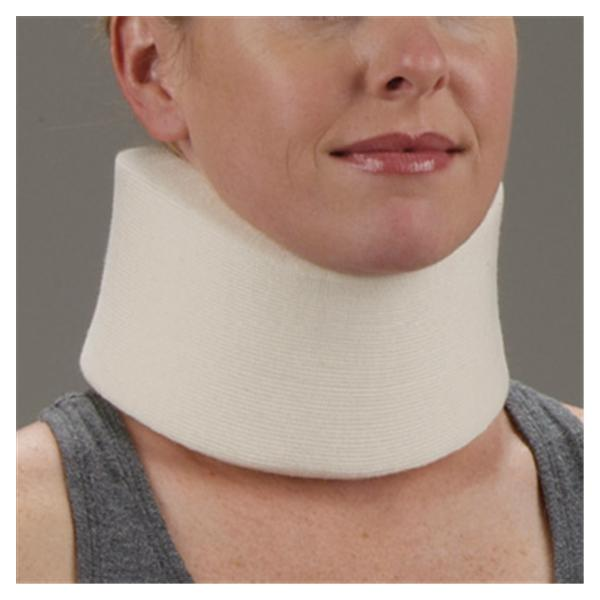 Deroyal Industries  Collar Adult Cervical Foam White Universal Ea (1000351)