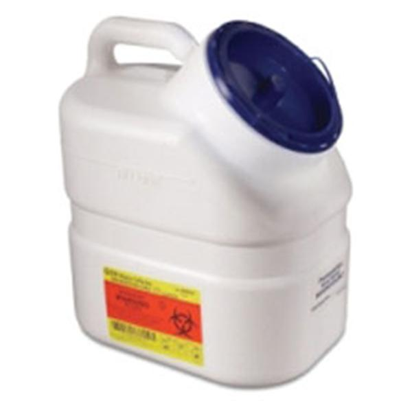 Becton-Dickinson Collector Pharmaceutical Waste 3gal Large Plg Cp White/Blue 12/Ca
