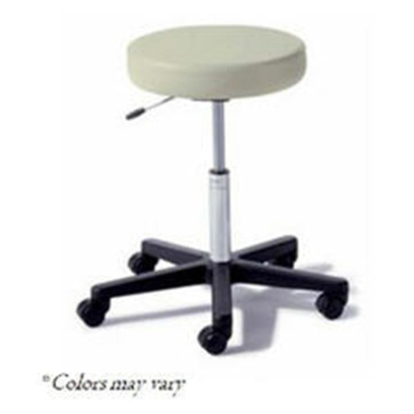 Midmark oration Stool Exam Ritter Value Series MsGrn 5 Lg/Cstr Bckls Blk BS Ea