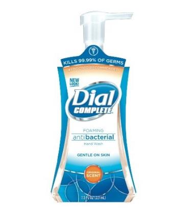 Complete Antibacterial Foaming Hand Wash by Dial