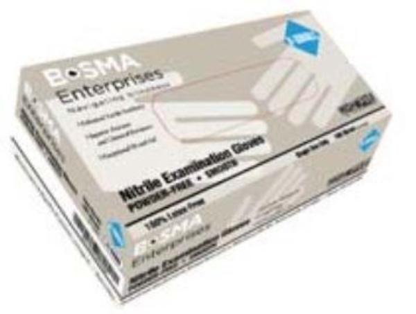 Nitrile Smooth Exam Gloves