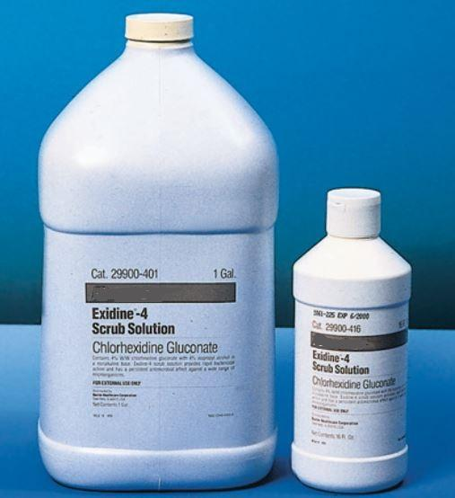 Exidine Scrub Solution 4% by BD