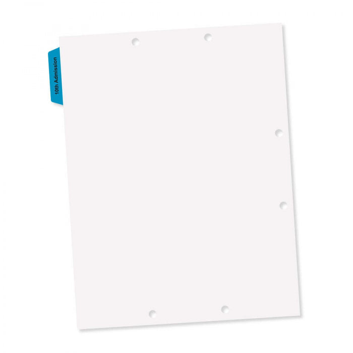 "Durable Blue Mylar 8 1/2"" X 11"" 300/Box"