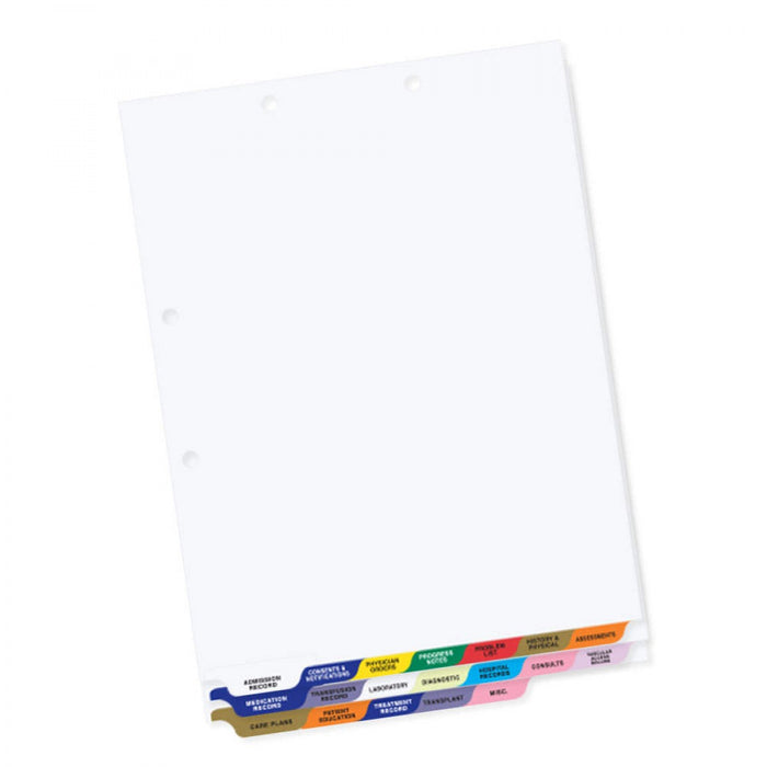 "Assorted Colors, Poly 8 1/2"" X 11"" 1/Set"