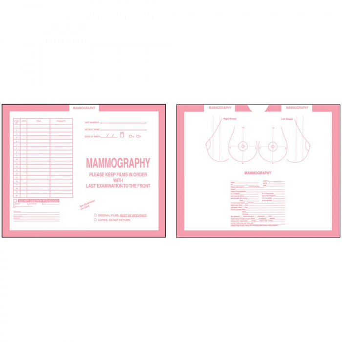 "Pink, Kraft Stock 250/Case 10 1/2"" X 12 1/2"""