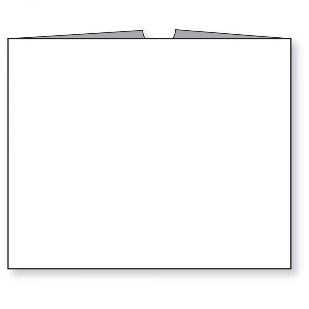 "White, Kraft Stock 250/Case 10 1/2"" X 12 1/2"""