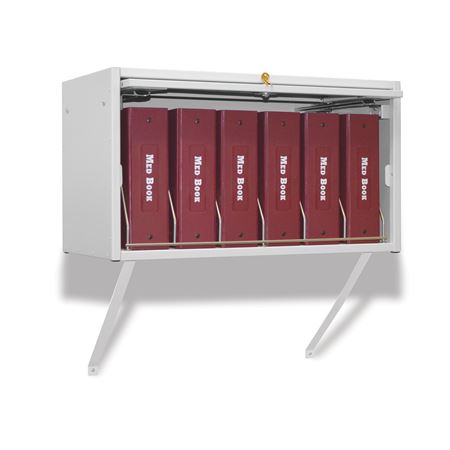 Cubbie File Storage Retractable Locking Panel for Cubbie Storage