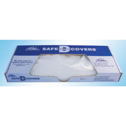 "Safe-D-Covers Disposable Cassette Cover 14""X17"" 4 Mil Plastic 100/Box"